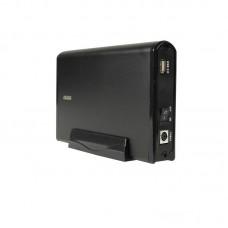 "Carcasa Rack Extern Hard Disk 3.5"" 4WORLD, USB 2.0, NEGRU, hdd SATA, alimentare externa"
