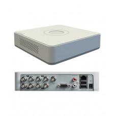 DVR 8 porturi Hikvision DS-7108HGHI-F1, Iesiri VGA + HDMI