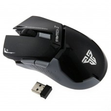 Mouse Gaming Wireless Fantech WG8, Alb / negru, USB, 2000 dpi, optic, fara fir, baterii incluse