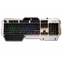 Tastatura Semi Mecanica PRO Gaming FanTech Eclipse K710,  Iluminata, USB, negru gri