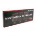 Tastatura USB Multimedia DeTech, 9 butoane multimedia, forma ergonomica, taste confortabile, Negru