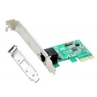 Placa Retea Gigabit Ethernet, Active TXA007, internet 10/100/1000M, PCI-e, 1Gb, low profile, bracket inclus, chip rtl8111e