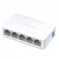 Switch retea Mercusys 5 port, 10/100Mb