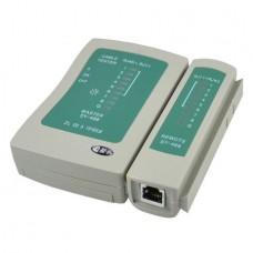 Tester Cablu retea RJ45 + telefon RJ11, UTP, FTP, Internet