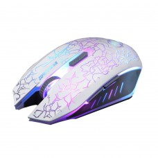 Gaming Mouse ZORNWEE Z032, White, USB, 2400 dpi, optical, 6 buttons