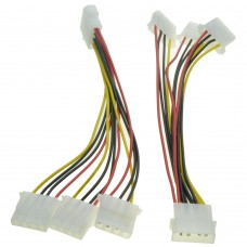 Molex (ide) cable multiplier , 1 femele to 3 male