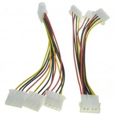 Cablu multiplicator molex (ide) 1 mama la 3 tata