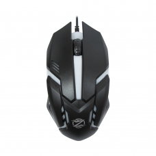 Mouse Gaming ZORNWEE Revival GM-02, Negru, USB, 1000 dpi, optic, 3 butoane, cablu 1,5M, iluminat