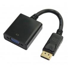 Adaptor DisplayPort (DP) tata - VGA Mama, Active, suporta rezolutie full HD