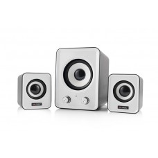 Speaker System 2.1 Logic LS-20, 11W, stereo, rubber membrane, subwoofer, USB power supply, 1 x jack 3.5mm, great quality, clear sound