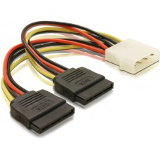 Power adapter molex (ide)- 2 x SATA 15cm, s-ata multiplier