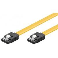 Cablu SATA3 date pentru hdd / ssd / dvd, ACTIVE , 30cm, clips metalic, sata III 3