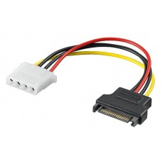 Power adapter s-ata - molex (ide), 17cm