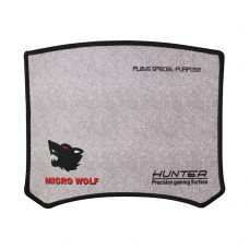 MousePad Gaming Logilily L-16G, 25x20x0.2cm, Negru/Gri, protectie anti alunecare Pad