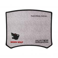 MousePad Gaming Logilily L-16G, 25x20x0.2cm, Negru/Gri, protectie anti alunecare Pad
